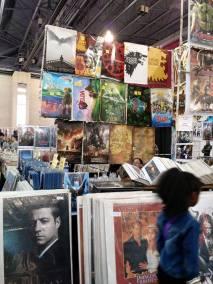 Vendor at Comic Con Philly